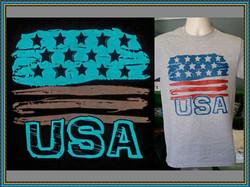 Glow in the Dark USA t shirt