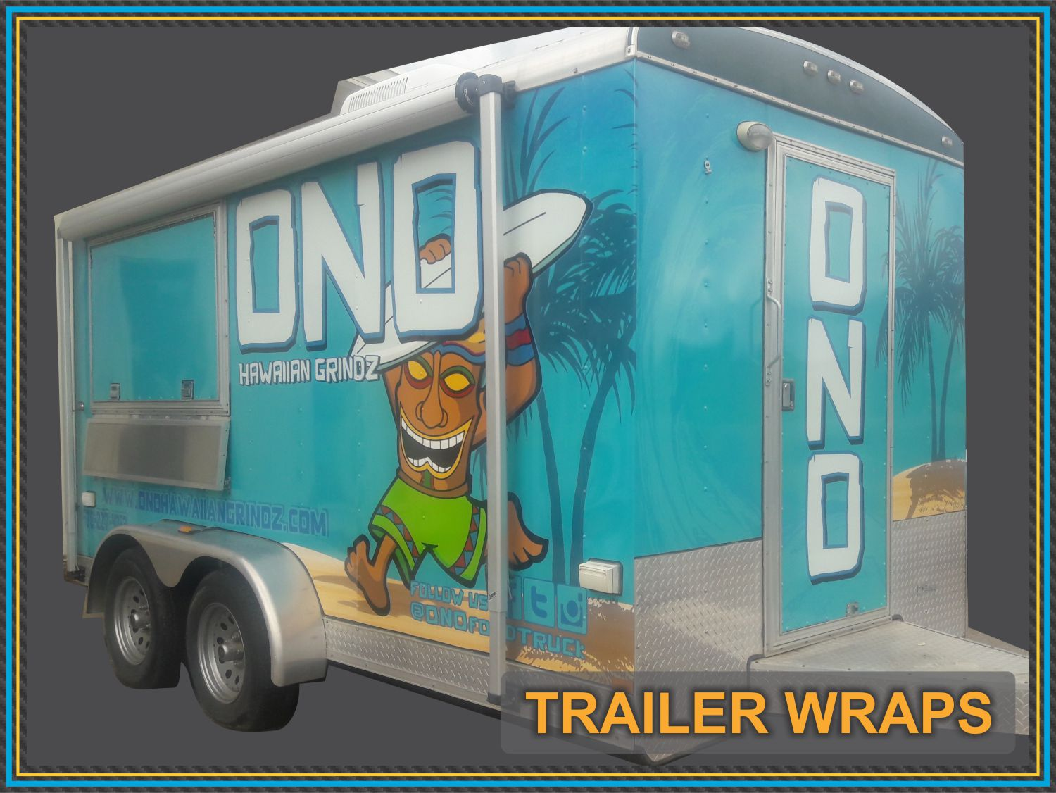 Concession Trailer Wrap