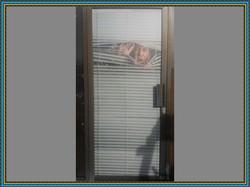 Perforated Door Graphic