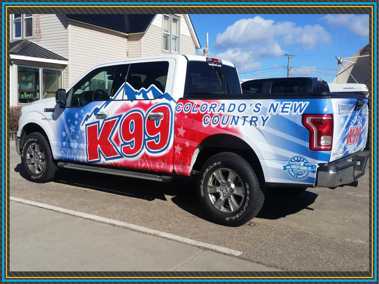 K99 Vehicle Wrap