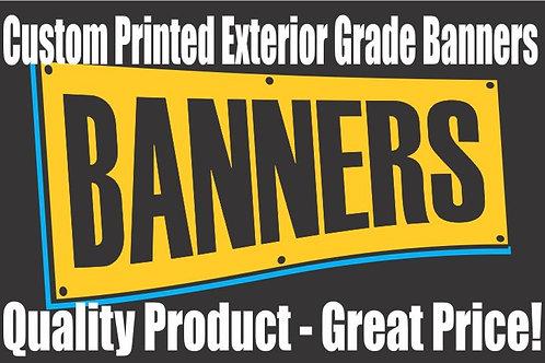 Custom Printed Outdoor Banners