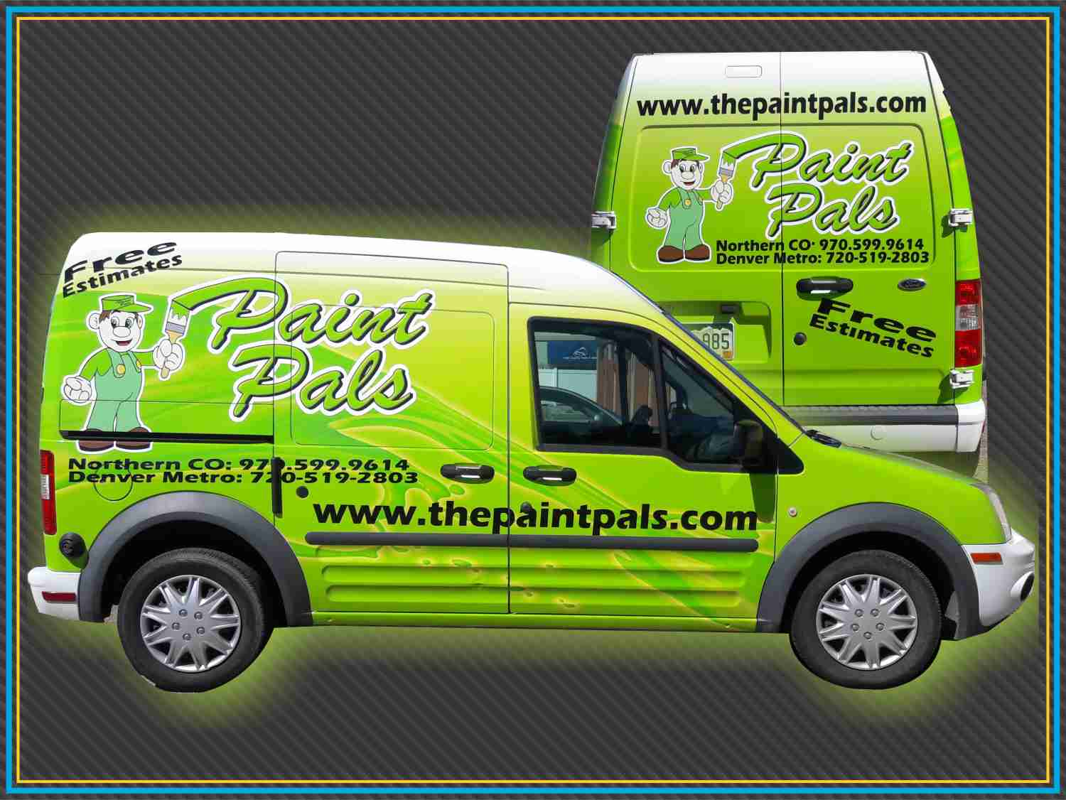 Paint Pals Van Wrap