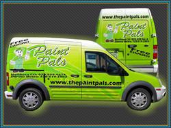 Paint Pals Van Wrap