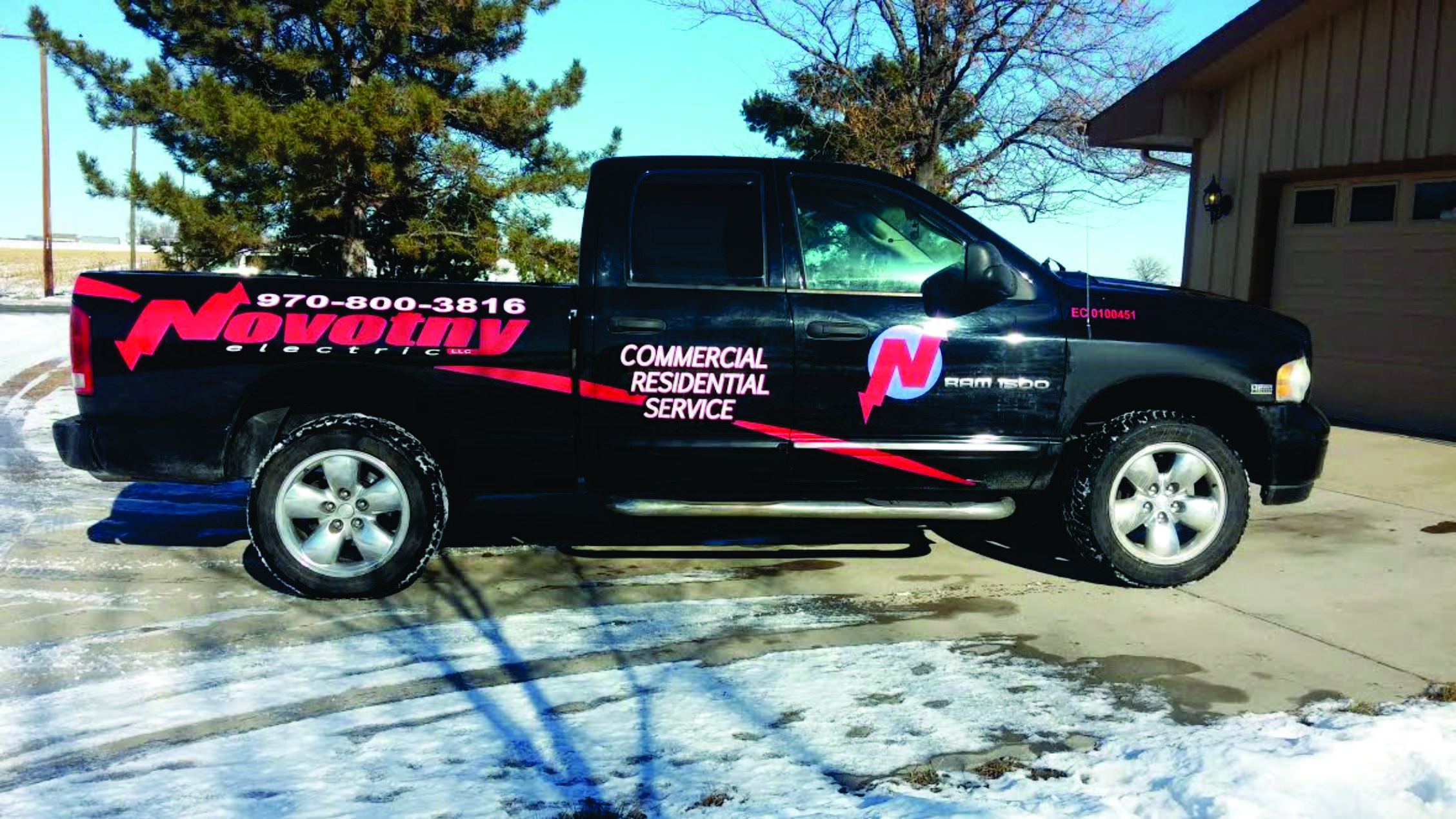 Contractor Wrap Graphics