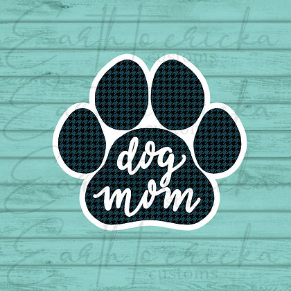 Dog Paw - Teal