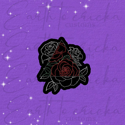 Rose Outline Triangle