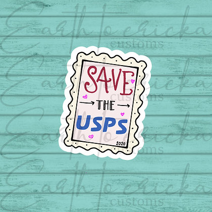 Save the USPS Stamp