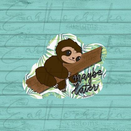 Lenny the Lazy Sloth