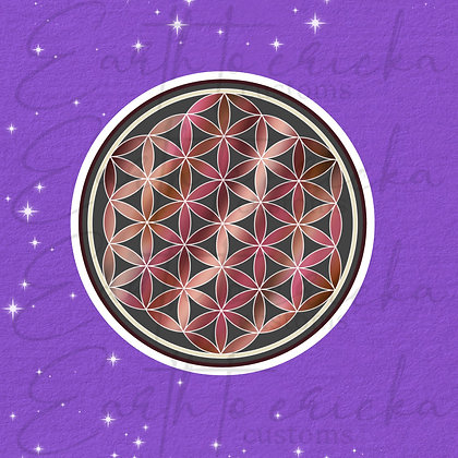 Pink Flower of Life
