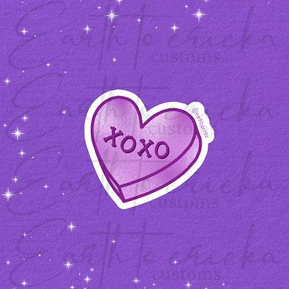 XOXO Conversation Heart