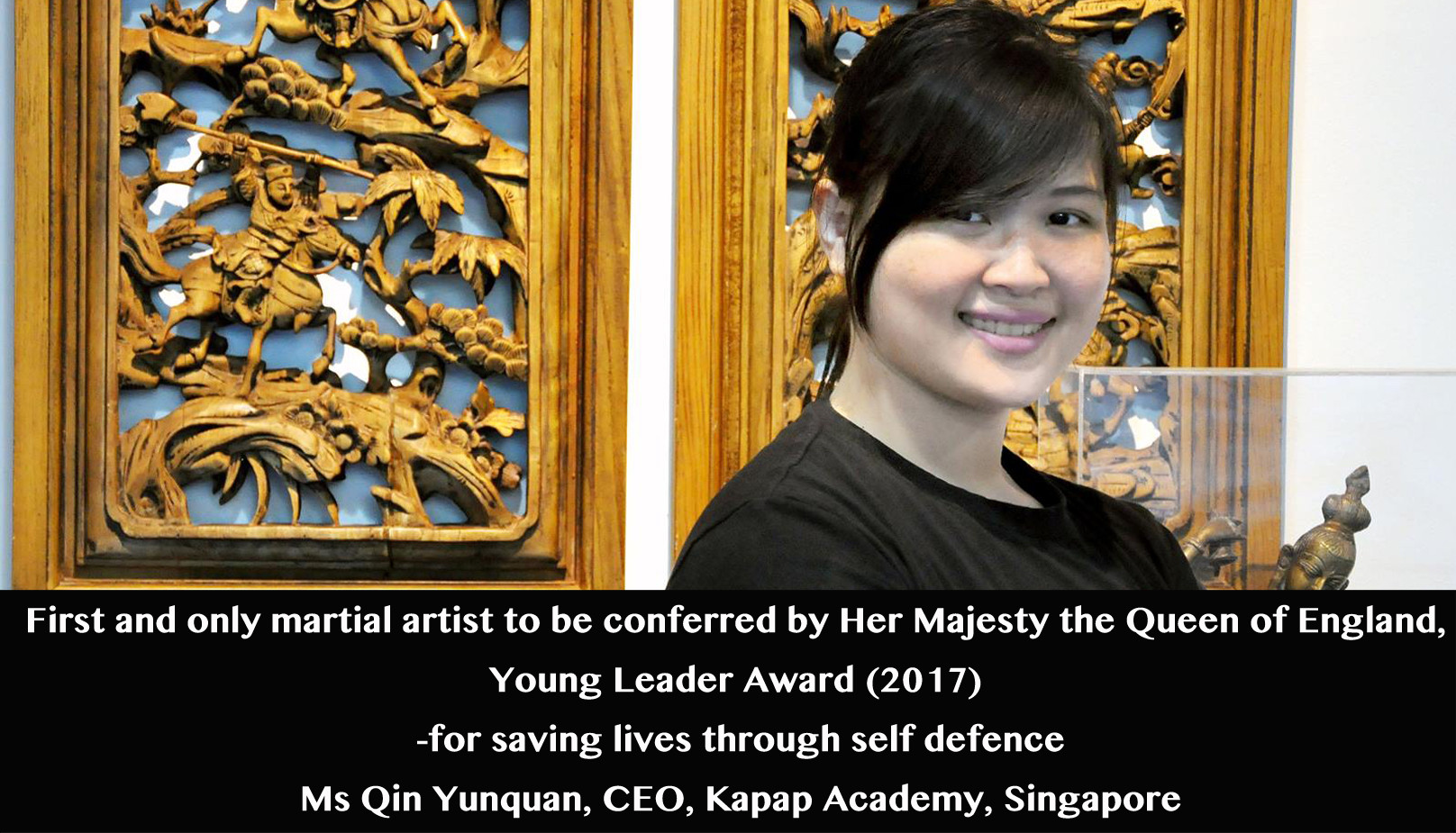 Yunquan on Queens Young Leader Award