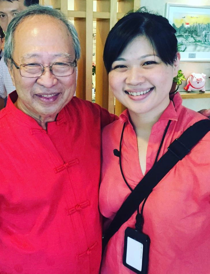 Yunquan and Dr Tan