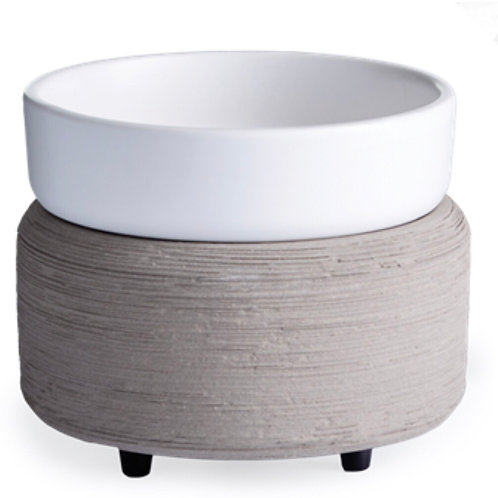 Gray 2-in-1 Warmer