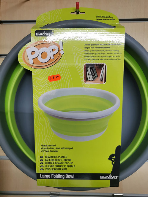 Pop collapsible bowl
