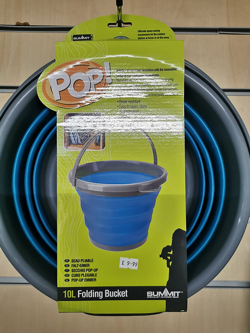 Pop collapsible bucket