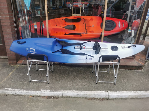 Perception five O sit on top surf kayak