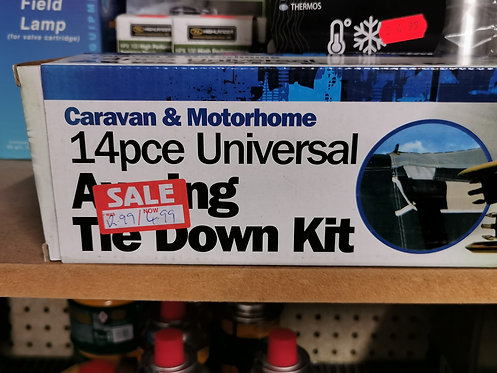 14pc Caravan universal awning tie down kit