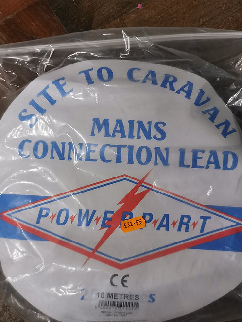 Mains hook up lead 10m & 25m