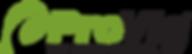 Provia's logo, one of Markin Co's main suppliers of windows.