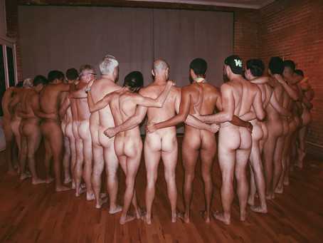 Stripping down with other men is a radical ritual