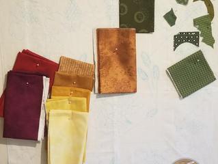 Medallion Block Fabric for the Baltimore Album Quilt