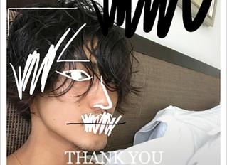 赤西仁 THANK YOU