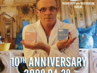 フレディ レック・ウォッシュサロン(ベルリン)10周年