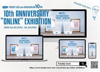 """FREDDY LECK sein WASCHSALON 10th ANNIVERSARY """"ONLINE""""EXHIBITION"""