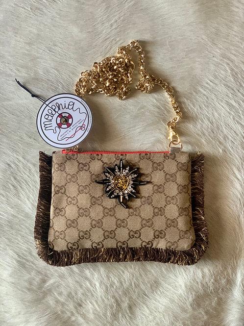Borsa peluche logo Gucci cuore