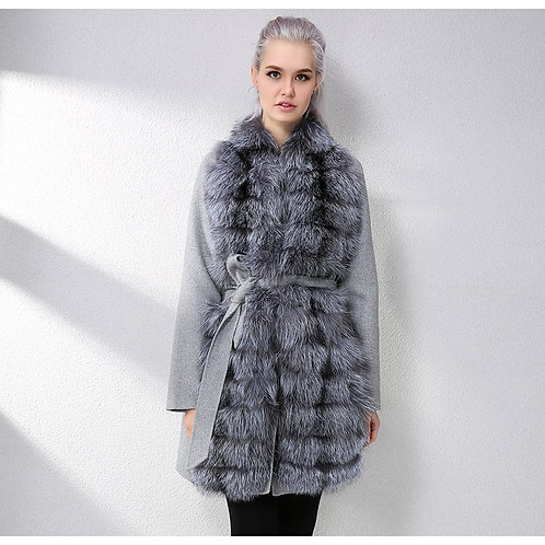 CAPPOTTO CON VOLPE / COAT WITH FOX FUR