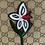 Thumbnail: Borsa GG fiore frange nere