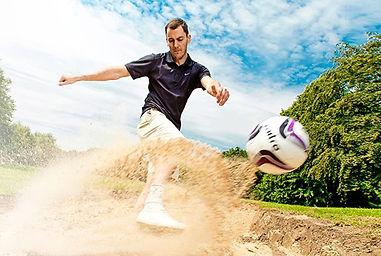 foot kick sand