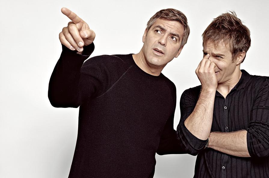 George Clooney • Sam Rockwell