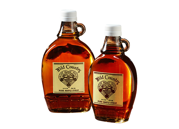 Maple Syrup in Traditional Glass (Flask)