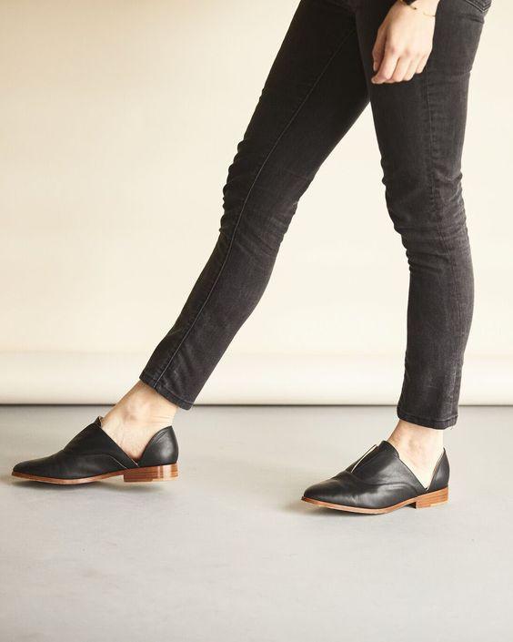 Oxfords abertos; Adamas Acessórios; looks de inverno no calor; sapatos abertos