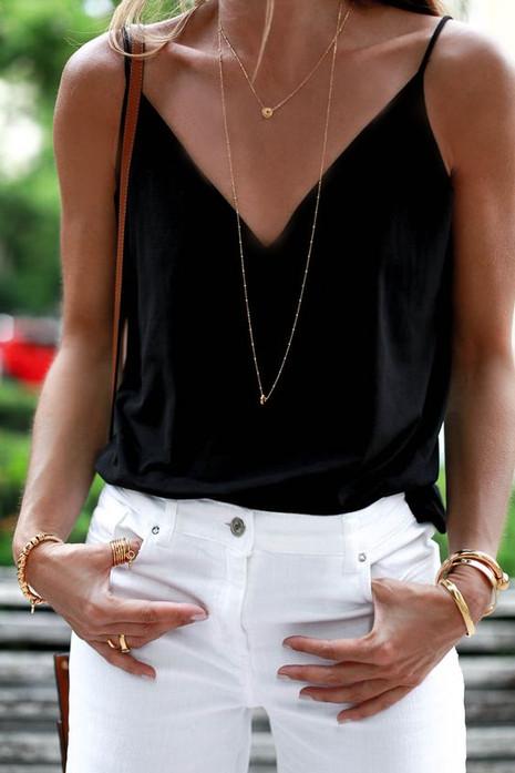 Preto, branco e dourado