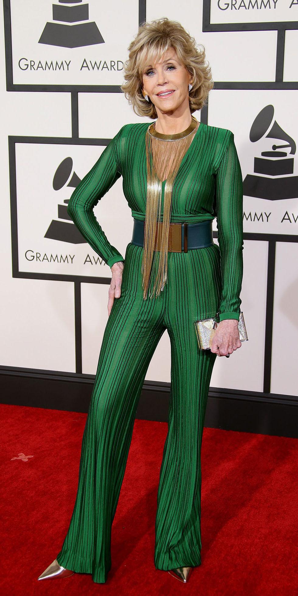 Jane Fonda, batalha de looks, comparação entre mulheres