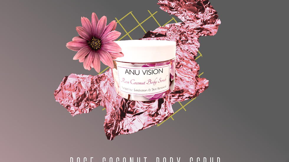 Rose Coconut Scrub