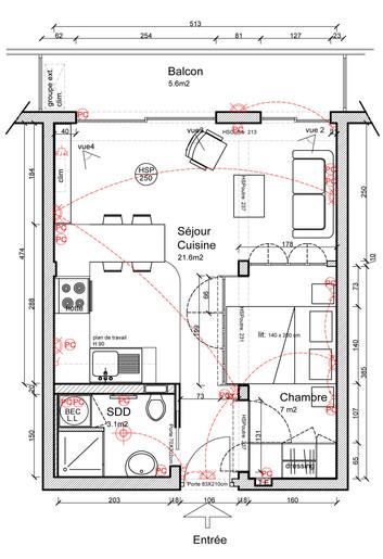 Plan Projet - Studio Cannes