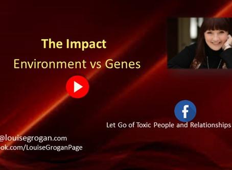 The Impact of Environment vs Genes.