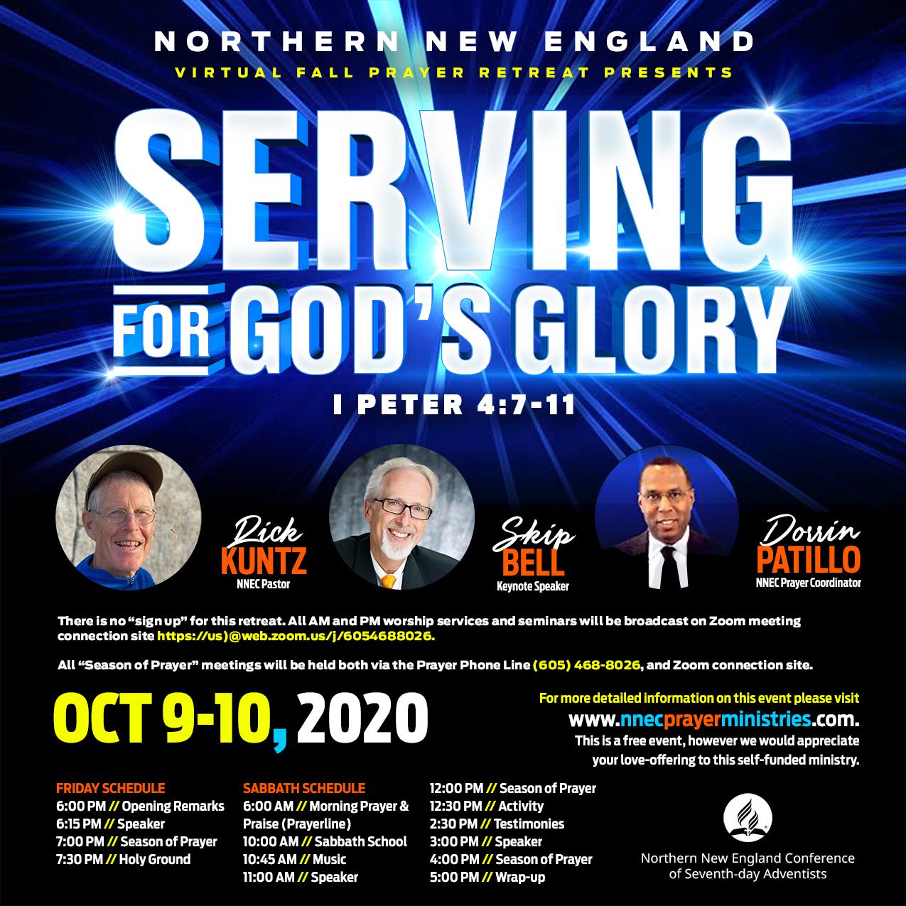 Serving for God's Glory - Social Promo