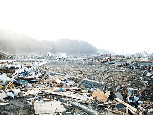東日本大震災被災画像
