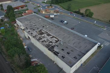 Bâtiment industriel à LOZANNE (69)
