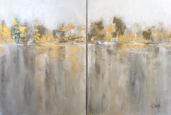 Reflections of Hope (diptych)