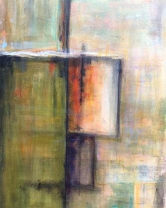 """Into the Doorway (24"""" x 36"""")"""