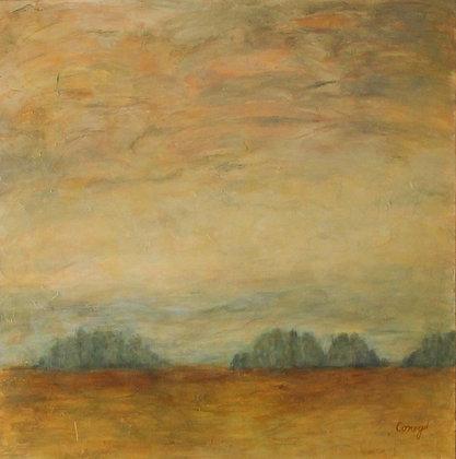 """Faraway Forest (36"""" x 36"""")"""
