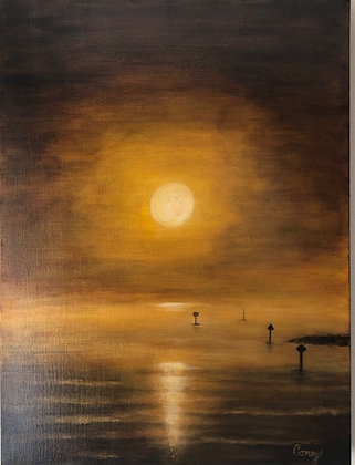 "Ballast Point Sunrise (18"" x 24"")"