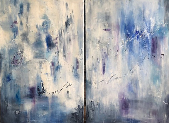 Out of the Blue (diptych)