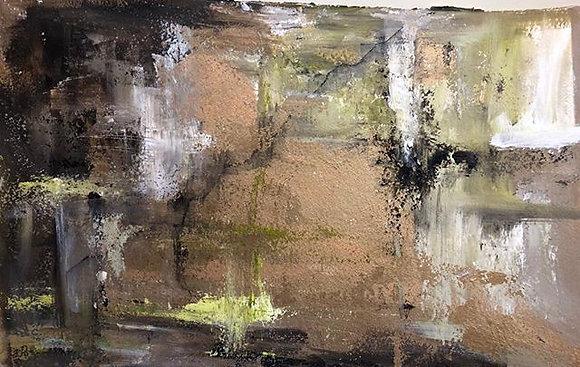"""Looking Inward (15"""" x 22.5"""")"""