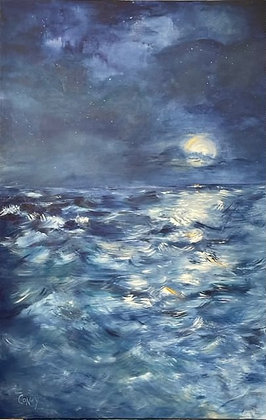 "Dark and Stormy (24"" x 36"")"